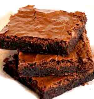 Brownie con Pasas