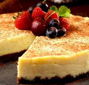 Cheesecake de Chocolate-blanco