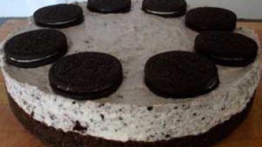 Cheesecake de Oreo
