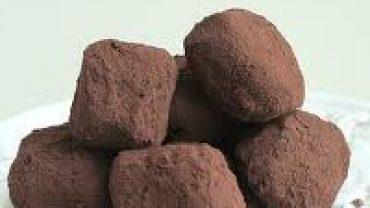 Trufas de Chocolate con Café