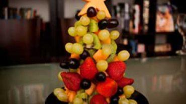 Árbol de Navidad con Frutas