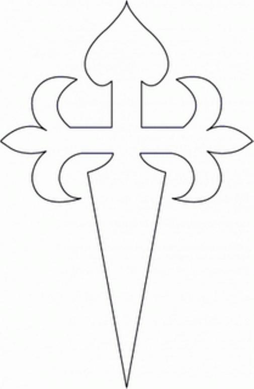 Molde Cruz de Santiago