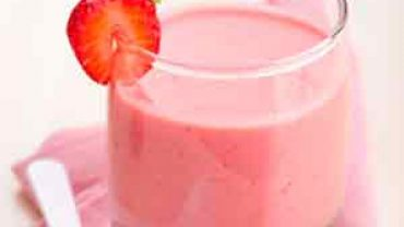 Mousse de Yogurt de Fresa