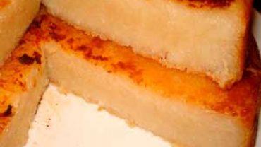 Tarta de Arroz Vasca